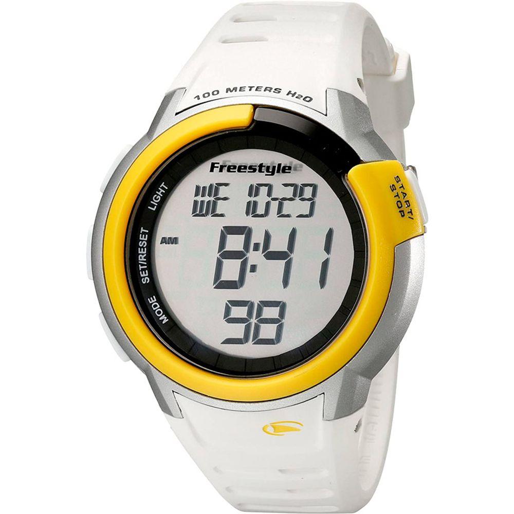 Relogio-Freestyle-Mariner-White-Yellow-Silicone