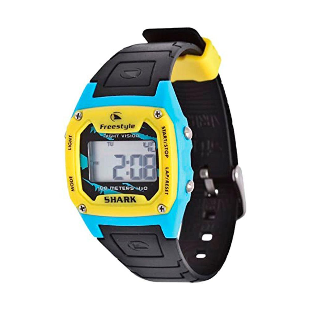 Relogio-Freestyle-Shark-Classic-Black-Yellow-Blue
