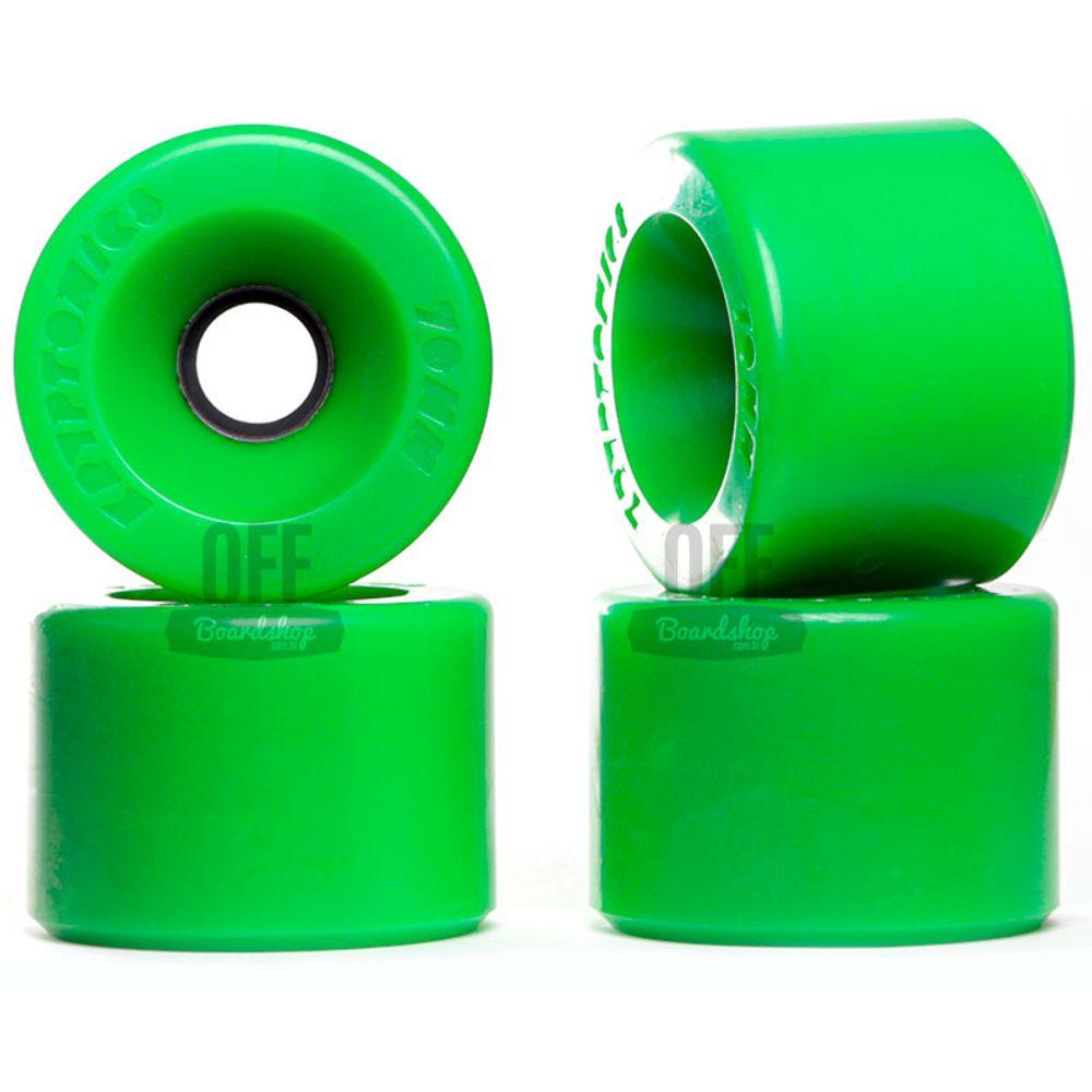 Roda-Kryptonics-Star-Trac-70mm-86A-Green-