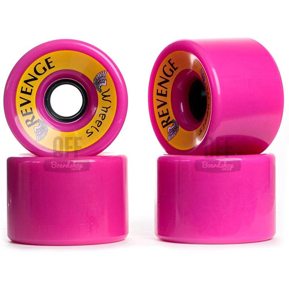 Roda-Revenge-75mm-83a-Pink