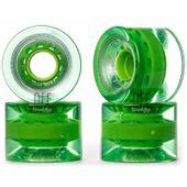 Roda-Creme-60mm-82A-Verde-Transparente