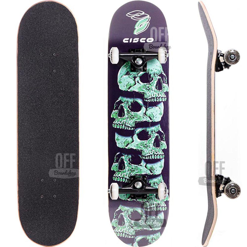 Skate-Cisco-Pro-Skull-Green