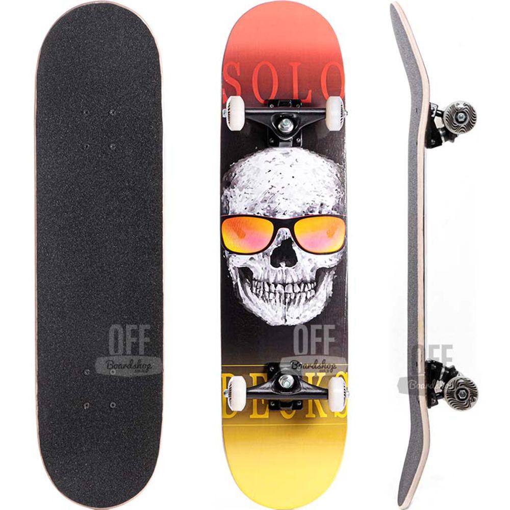 Skate-Solo-Decks-Skull-Glass