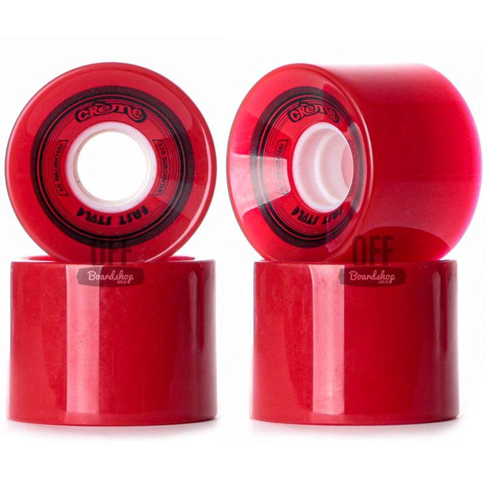 Roda-Creme-60mm-82A-Vermelha