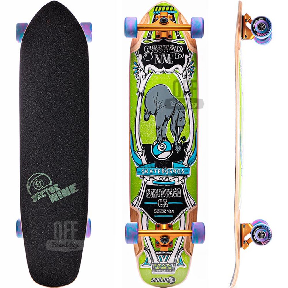 Longboard-Sector-9-Mini-Daisy-Green-37-5-
