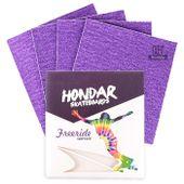 Lixa-Hondar-Longboard-10-x-11-Roxo--4-Folhas-
