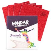 Lixa-Hondar-Longboard-10-x-11-Vermelho--4-Folhas-
