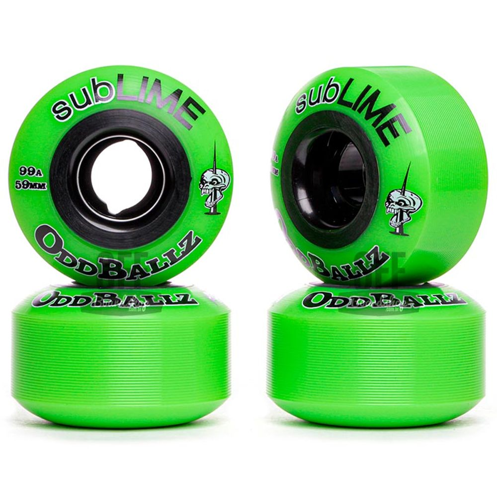 Roda-ABEC-11-Sublime-Oddballz-59mm-99A