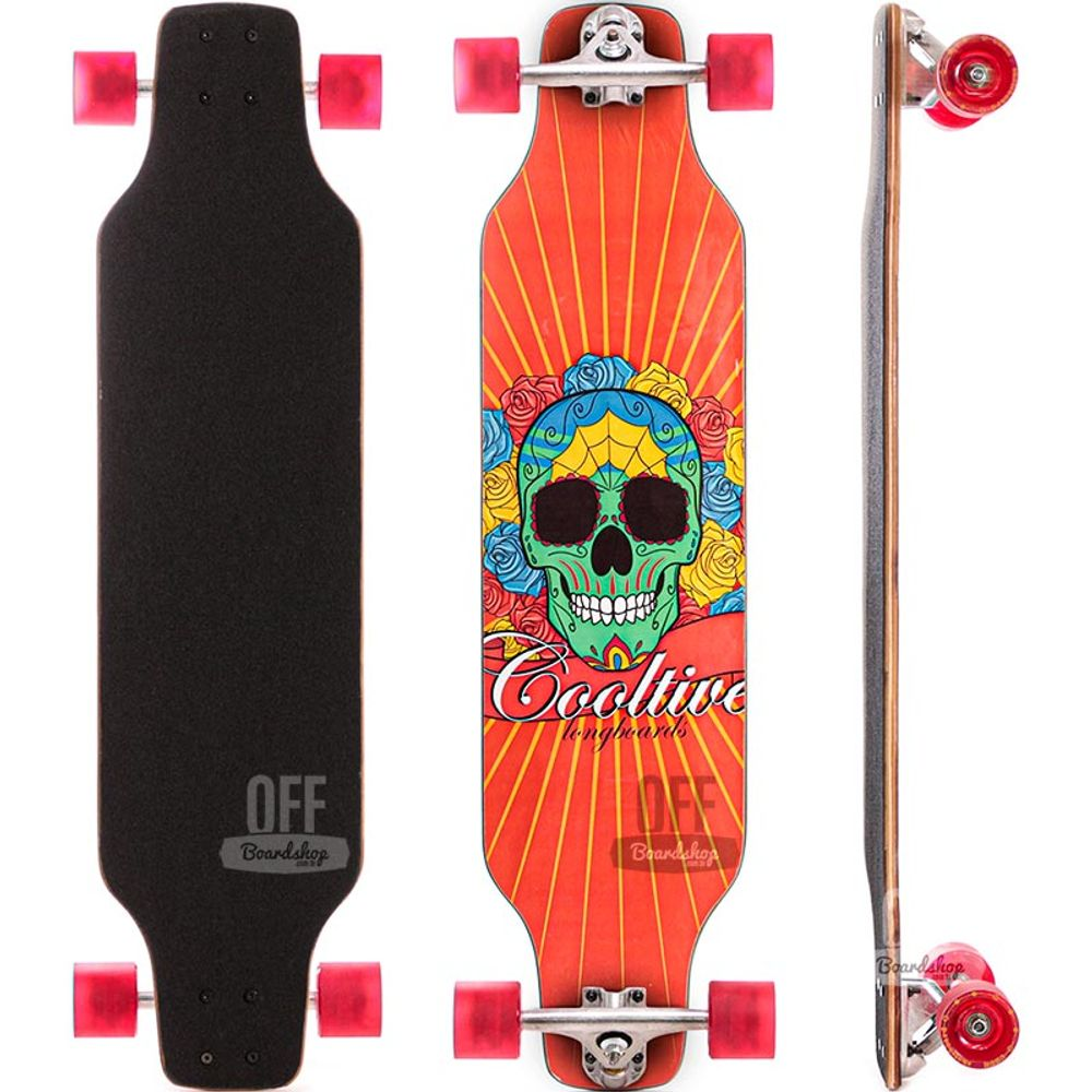 Longboard-Allyb-Cooltive-Skull-Red-37