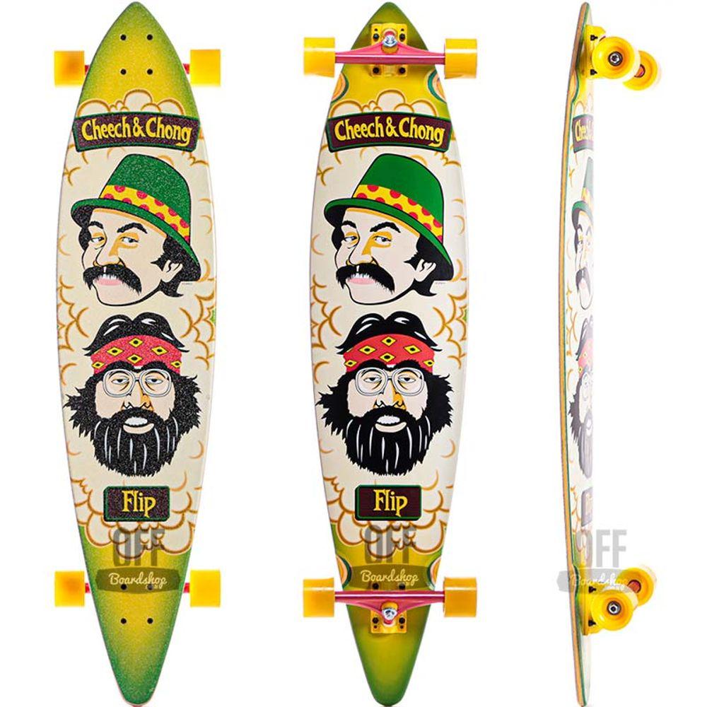 Longboard-Flip-Cheech-Chong-Pintail-43