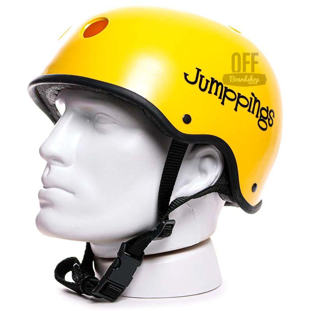 Capacete-Jumppings-Pro-Line-Amarelo-Fosco-1