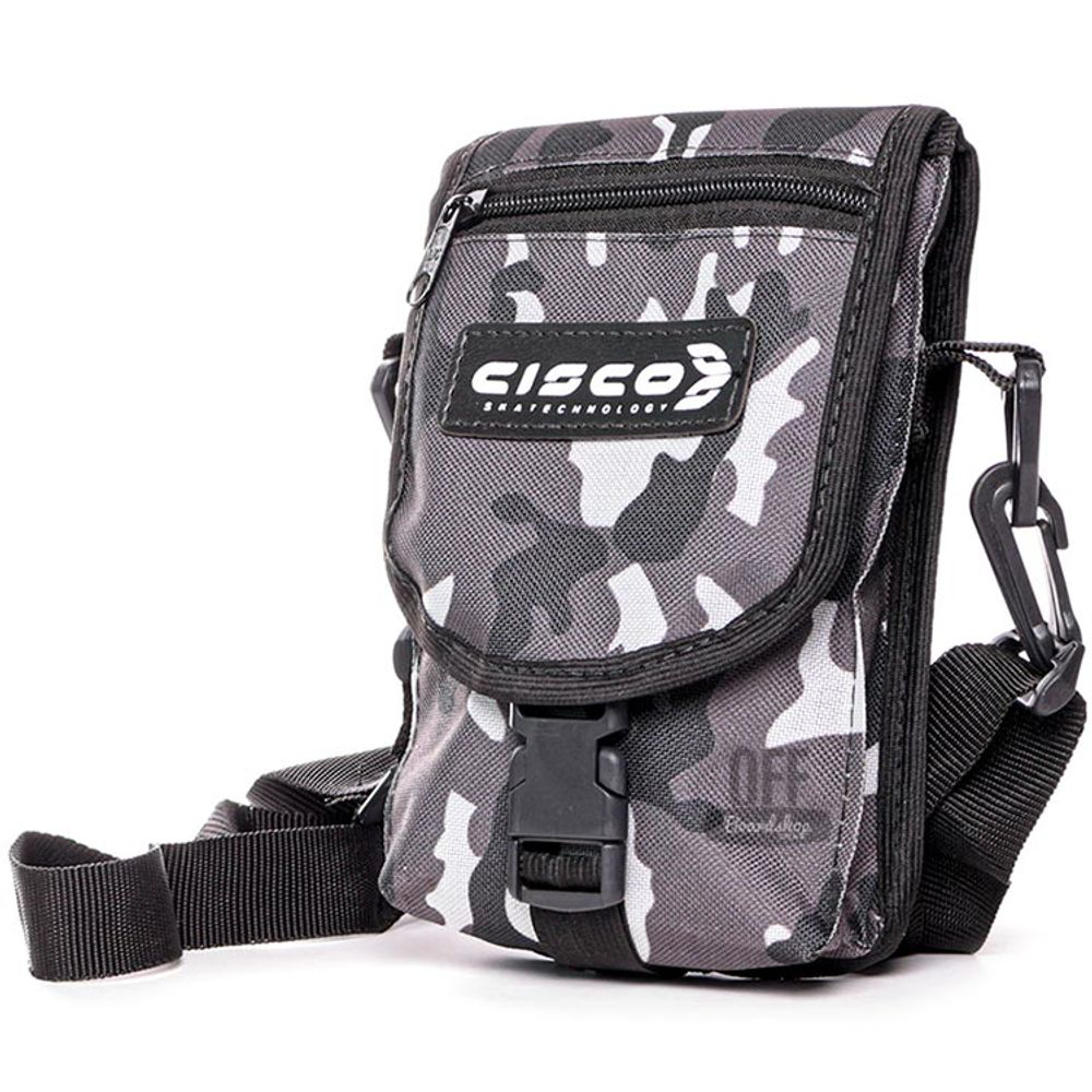 Shoulder-Bag-Cisco-Logo-Escrita-Black-White