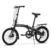 Bicicleta-Dobravel-Two-Dogs-Pliage-Plus-Preto