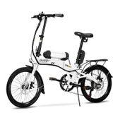 Bicicleta-Eletrica-Dobravel-Pliage-Plus-Branco
