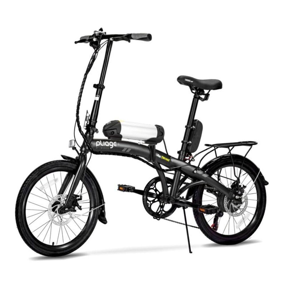 Bicicleta-Eletrica-Dobravel-Pliage-Plus-Preto