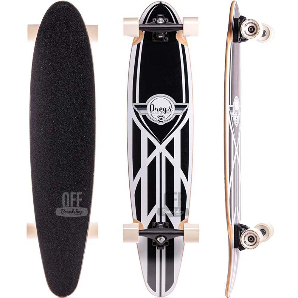 Longboard-Dregs-Tear-Drop-Surf-395