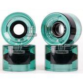 Roda-Hondar-Verde-Transparente-60mm-82A