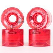 Roda-Hondar-Vermelha-Transparente-60mm-82A