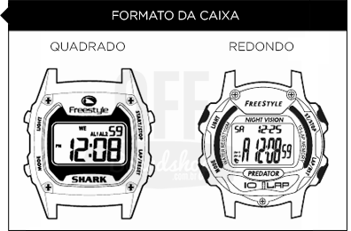 e46c4336339 Relógio Freestyle Killer Shark Skeleton - Blue Green